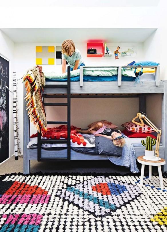 Megan Weston home - Chambre 'enfants moderne et bohème