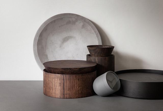 Menu - Wooden Bowl par les designers Norvégiens Jonas Ravlo Stokke et Øystein Austad
