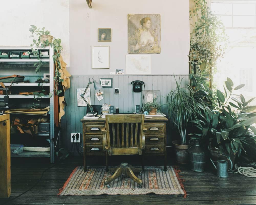Studio Las Letras à Madrid || #atelier #plantes #vertes #bureaux