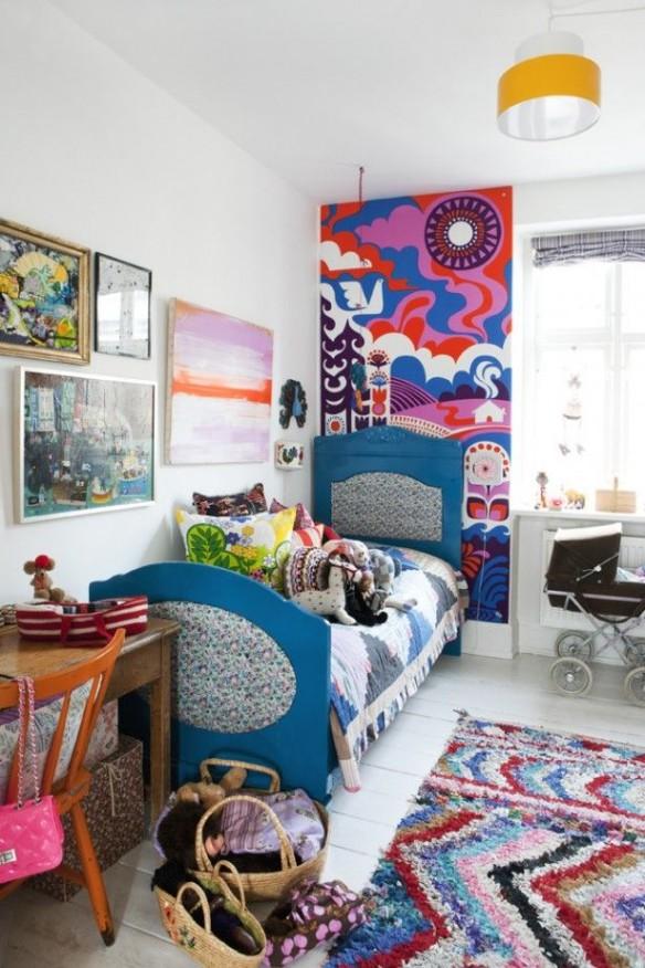 chambres d 39 enfant de boh mes turbulences d co. Black Bedroom Furniture Sets. Home Design Ideas