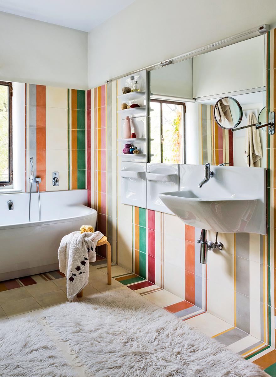 La salle de bain se met en scène || L'intérieur de Belen Moneo et Jeff Brock