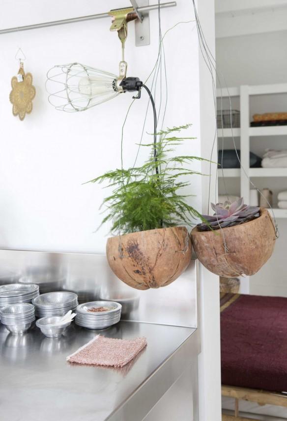La maison blanche scandinave ethnique d'Elisabeth Borger - Concept store L'Etoiler