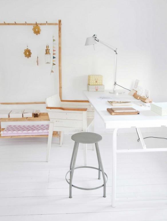 La maison blanche scandinave ethnique d'Elisabeth Borger - Concept store L'Etoile