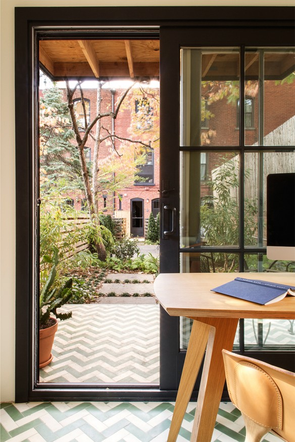Rénovation d'une maison à Brooklyn par Elysabeth Roberts
