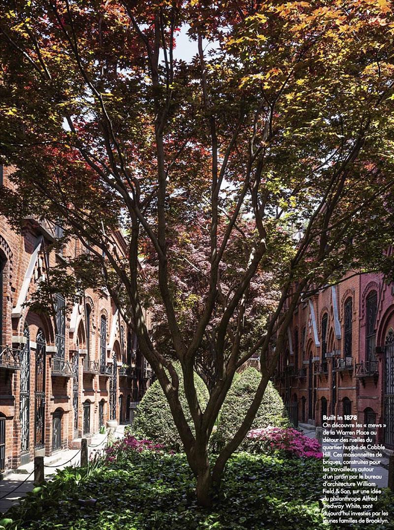 Rénovation d'une maison à Brooklyn par Elysabeth Roberts - Elle Décoration, Sept. 2015