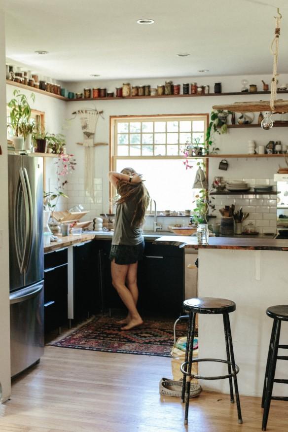 [ Idée déco ] Un tapis persan dans la cuisine // La cuisine d'Emily Katz