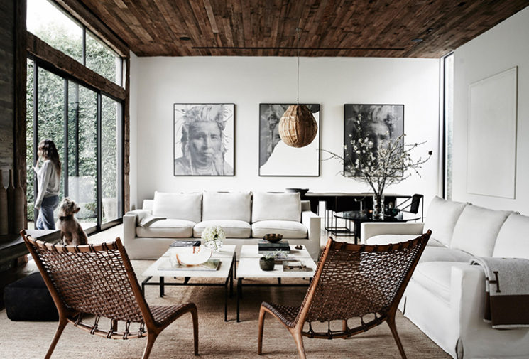 La maison de Jenni Kayne et Richard Ehrlich par Pia Ulin pour The Kinfolk Home