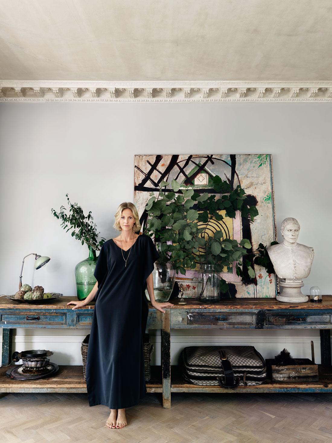 La maison bohème éclectique de Malin Persson