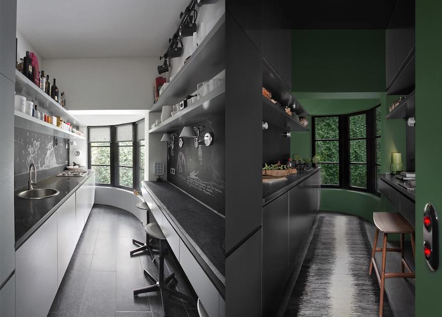 Serge Anton - avant/après de sa cuisine