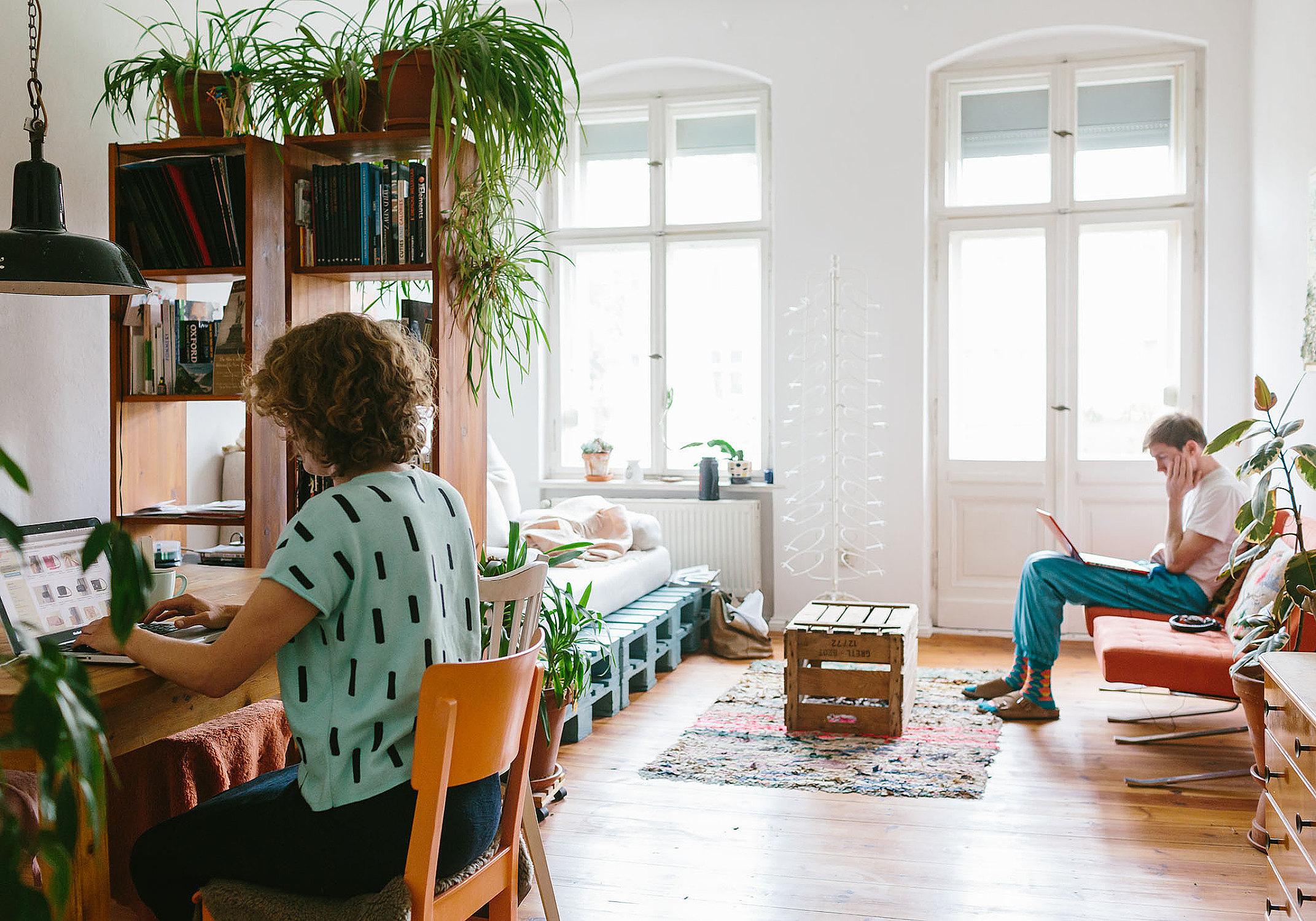 La maison d'alex Bender à Berlin