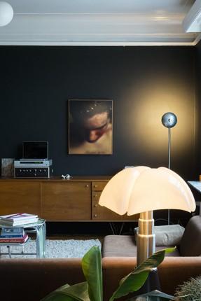 Intérieur d'Ingrid Deuss sur coffeeklatch || #lampe #pipistrello #Martinelli #Luce