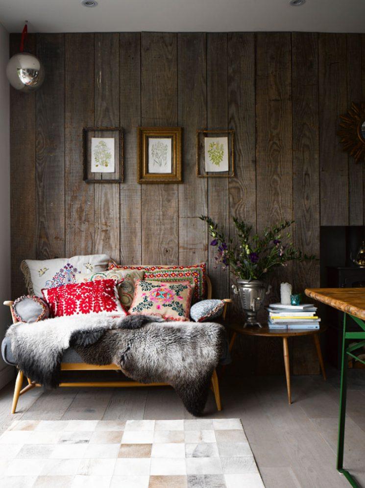 Inspiration et décoration d'automne | Styling d'Emily Henson pour son livre Modern rustic