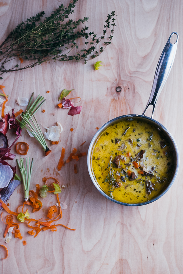 Inspiration et décoration d'automne | Brooklynsupper - Wild rice and mushroom soup