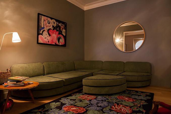 Appartement à Sète rénovée par Emilie Chicheportiche
