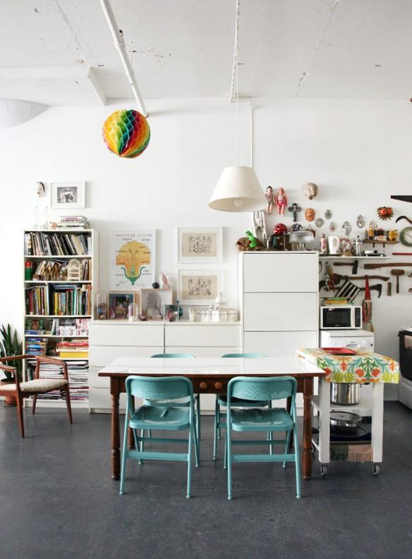 Le loft de Filippo Del Vita et Laura Garcia Serventi à Brooklyn