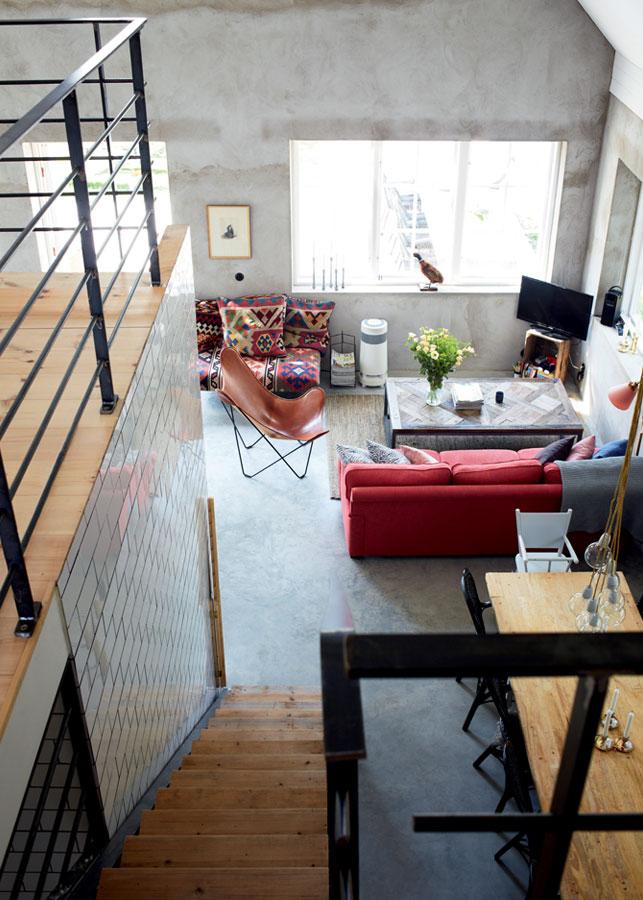 Fredrik and Poffa Ekman maison de style industriel à Götland