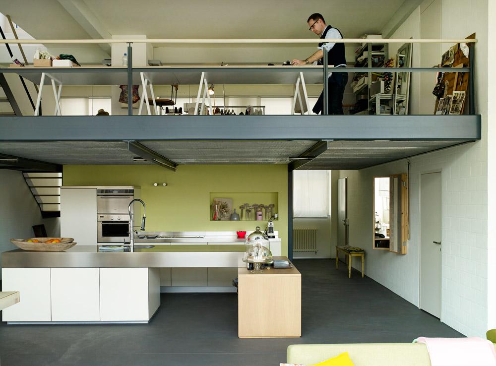 Un loft l 39 esprit nature for Acheter un loft en region parisienne