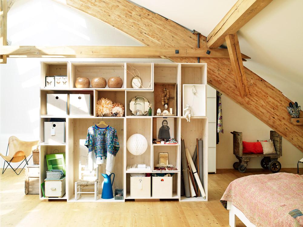 Un loft industriel et nature près de Zurich via mydaywith.ch