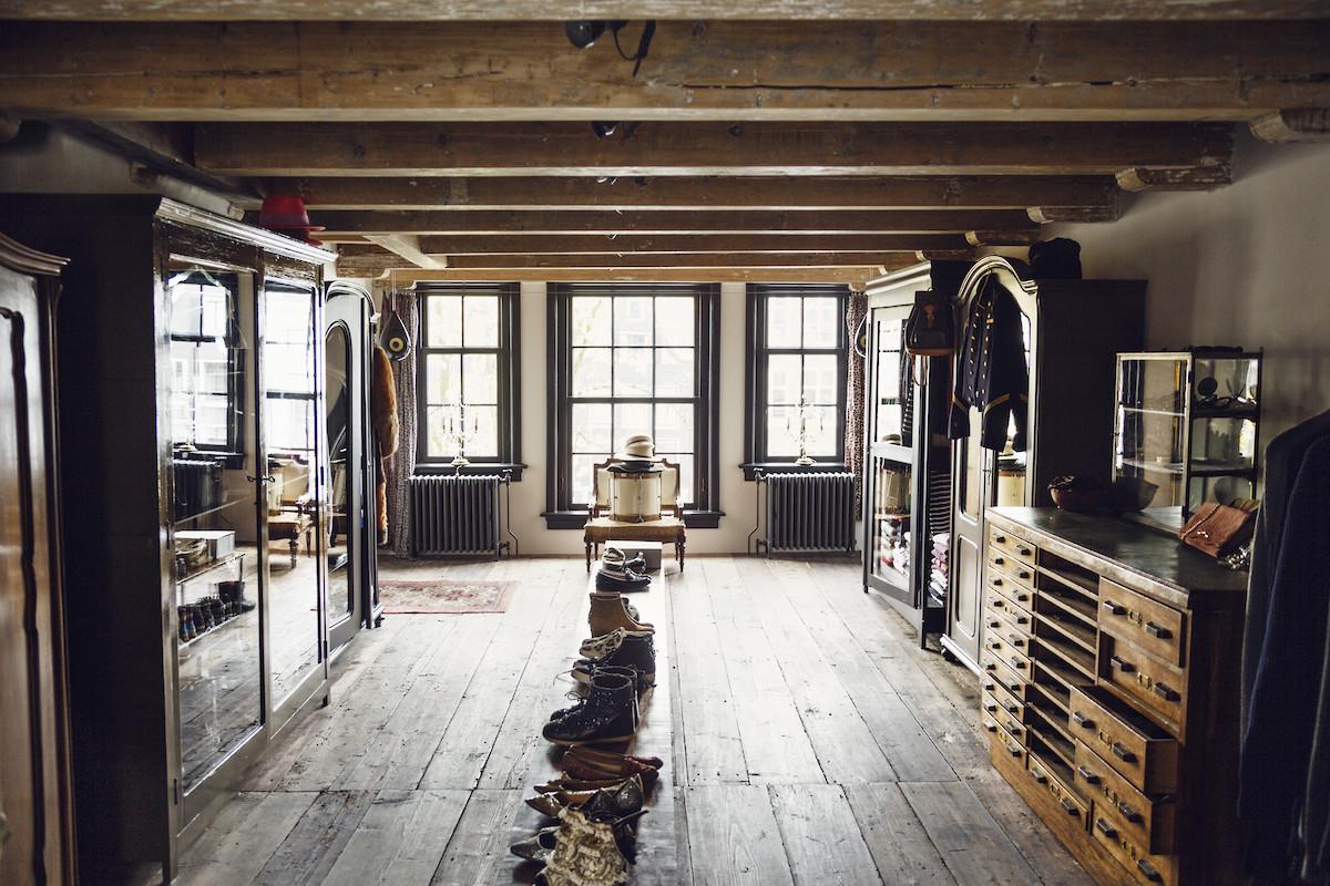 L'intérieur de Marloes hoedeman à Amsterdam par Anne Dokter