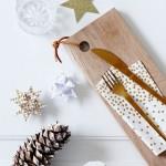 Une déco de Noël dorée