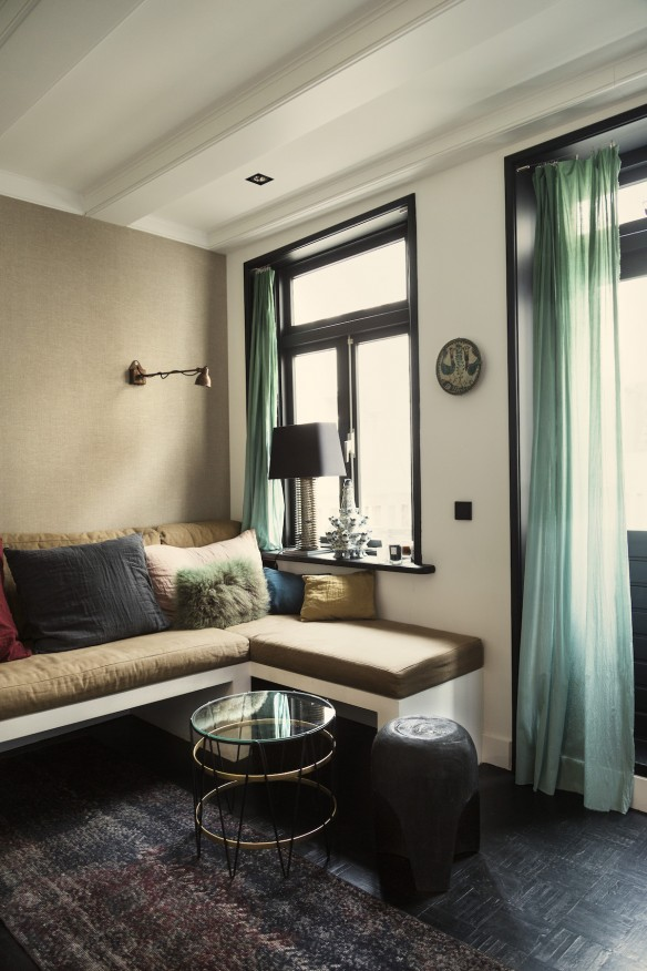 L'intérieur de Stella à Amsterdam par Anne Dokter