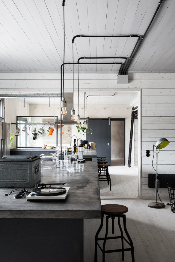 Interieur maison style industriel - Decoration interieur industriel ...
