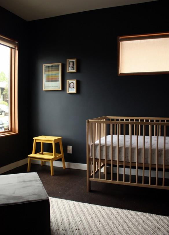 pourquoi pas une chambre d 39 enfant noire. Black Bedroom Furniture Sets. Home Design Ideas