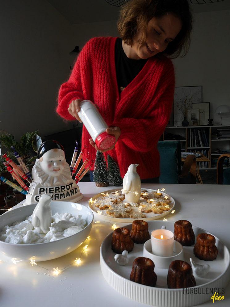 @turbulencesdeco - DIY Eléments de décor de table en porcelaine blanche