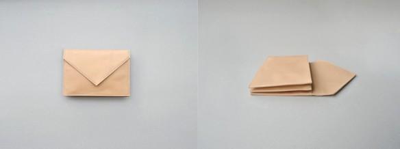 Porte-carte enveloppe, Carré Royal