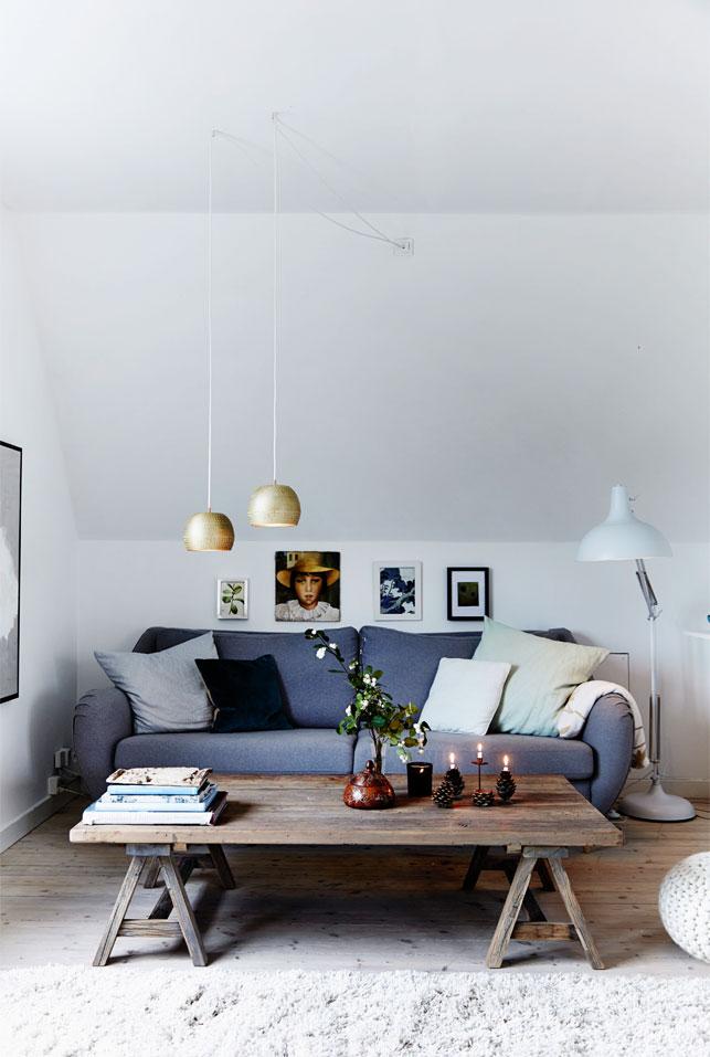 Déco de Noël scandinave minimaliste - L'intérieur de Charlotte Wendes