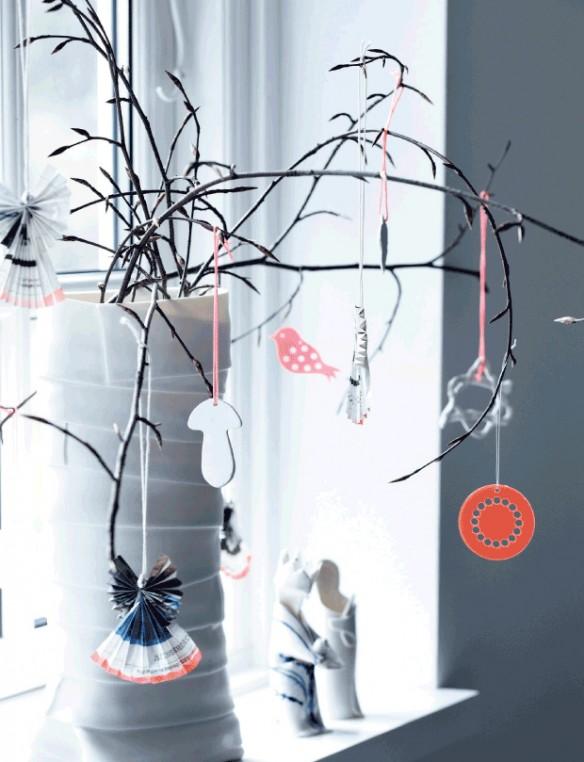 Déco de Noël scandinave minimaliste - L'intérieur de Christina Kattrup