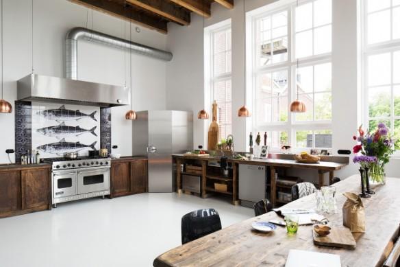 Retour l 39 cole - Deco oude keuken ...