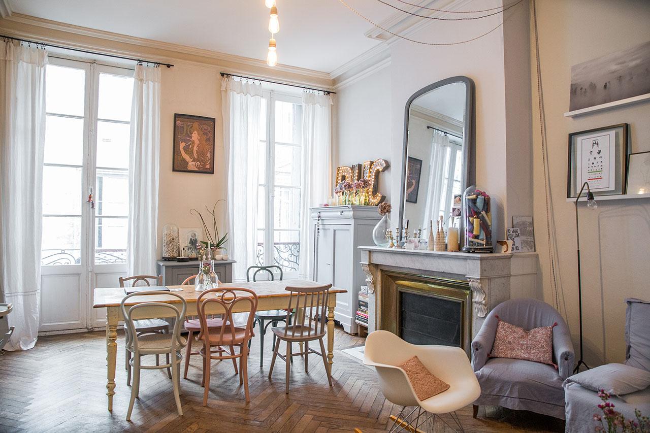 Le Petit Florilege deco appartement Bordeaux