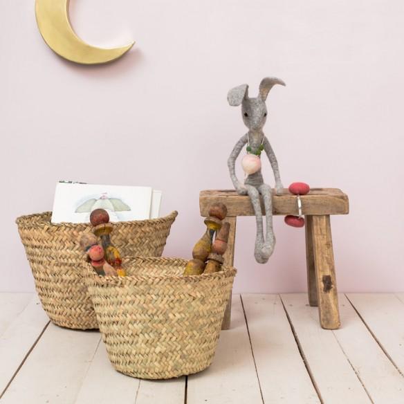 Boutique Le Petit Florilège - Styling avec paniers