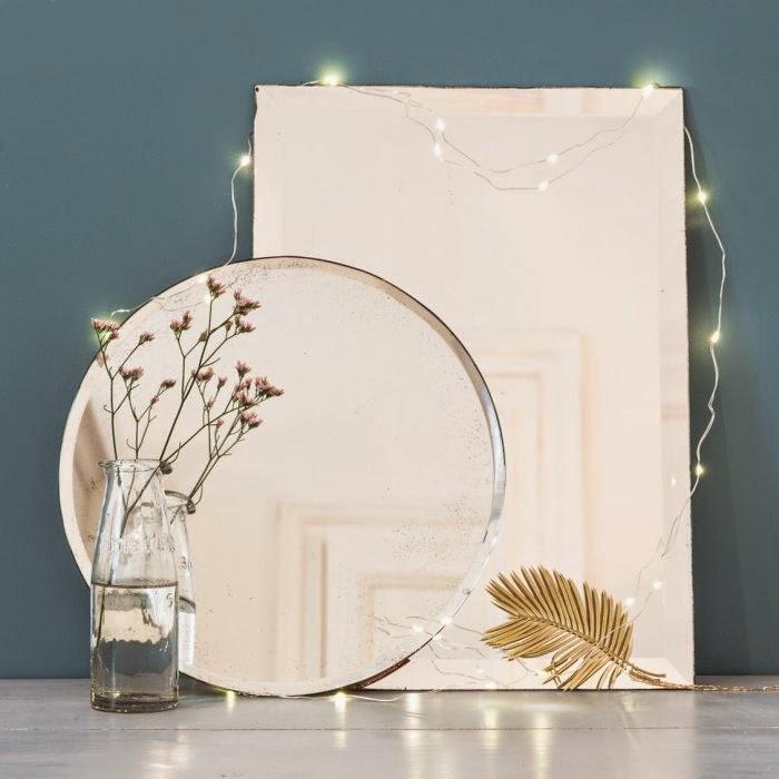 Boutique Le Petit Florilège - Styling avec miroirs