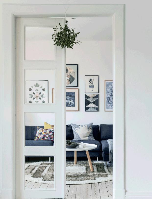 déco de Noël scandinave et minimaliste - L'intérieur de Lisbeth Assenholt