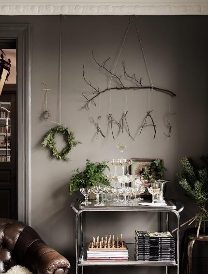 Décoration de Noël inspirée de la nature || Le décor de Noël de Malin Persson
