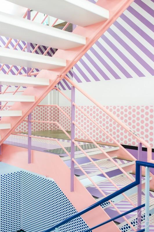 Pantone 2016 Rose Quartz et Bleu Sérénité || Opening ceremony Tokyo par zilverblauw