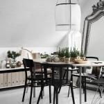 Déco de Noël scandinave minimaliste