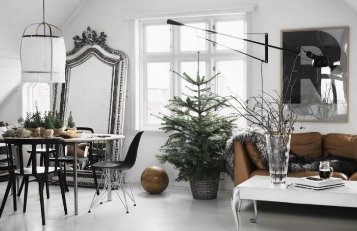 Déco de Noël scandinave minimaliste - L'intérieur de Per Olav Solvberg