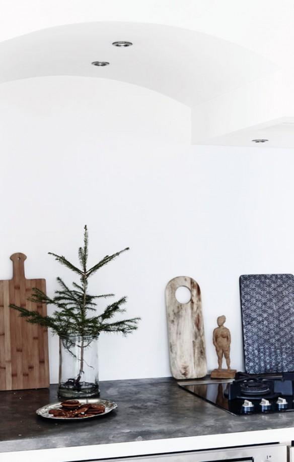 Déco de Noël scandinave minimaliste - L'intérieur de Pia Hutters