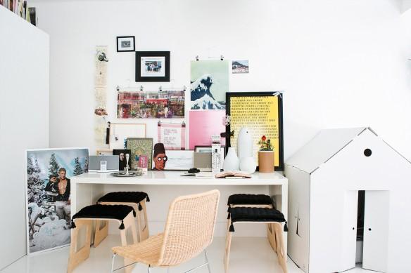 Le studio blanc conceptuel à Madrid de Juan Pablo Ramirez