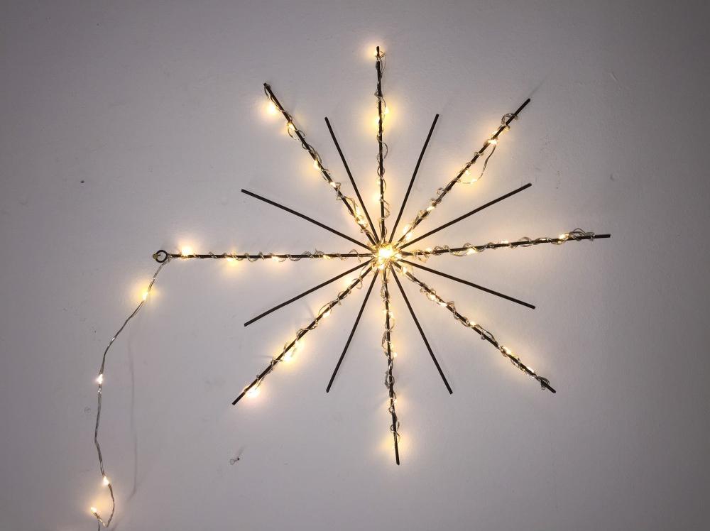 Lumière de Noël || Etoile-lumineuse par Zoé Rumeau