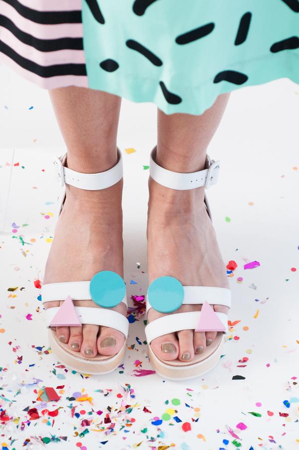 Pantone 2016 Rose Quartz et Bleu Sérénité || A Gorman party - Inspiration style Memphis