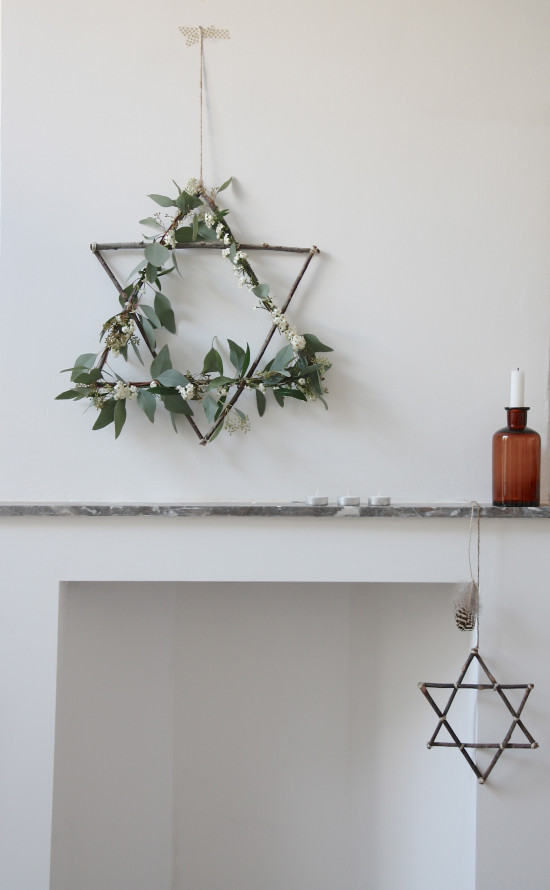 Décoration de noël naturelle à fabriquer || Couronne de Noël par avenuelifestyle