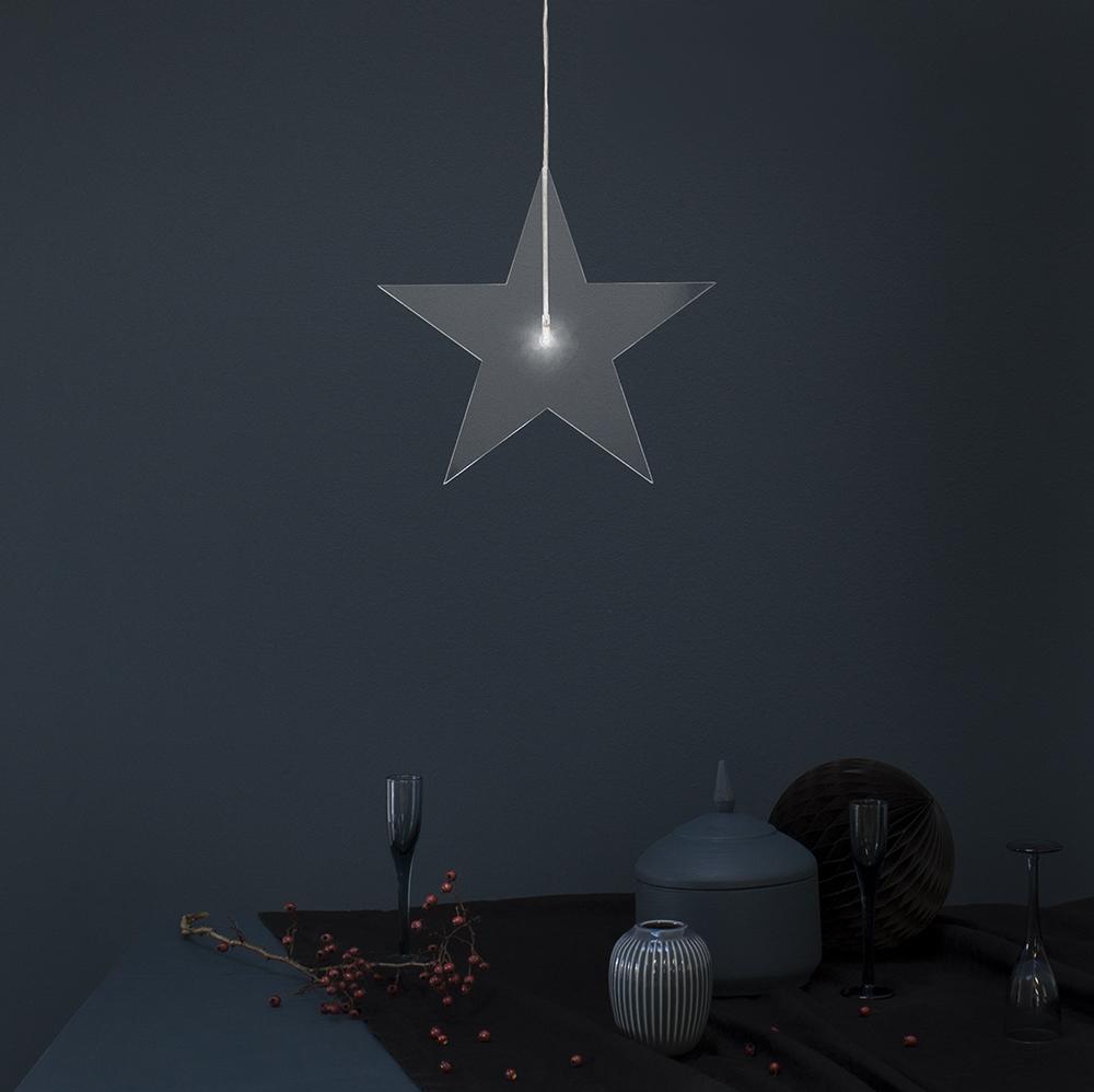 Lumières de Noël || Daniella Witte - Etoile lumineuse Vaxjo Elektriska