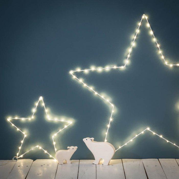 Lumière de Noël || Etoiles lumineuses Le Petit Florilège