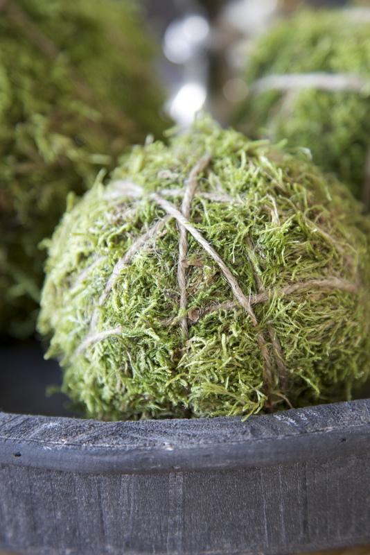 Décoration de noël naturelle à fabriquer || Boules de mousse
