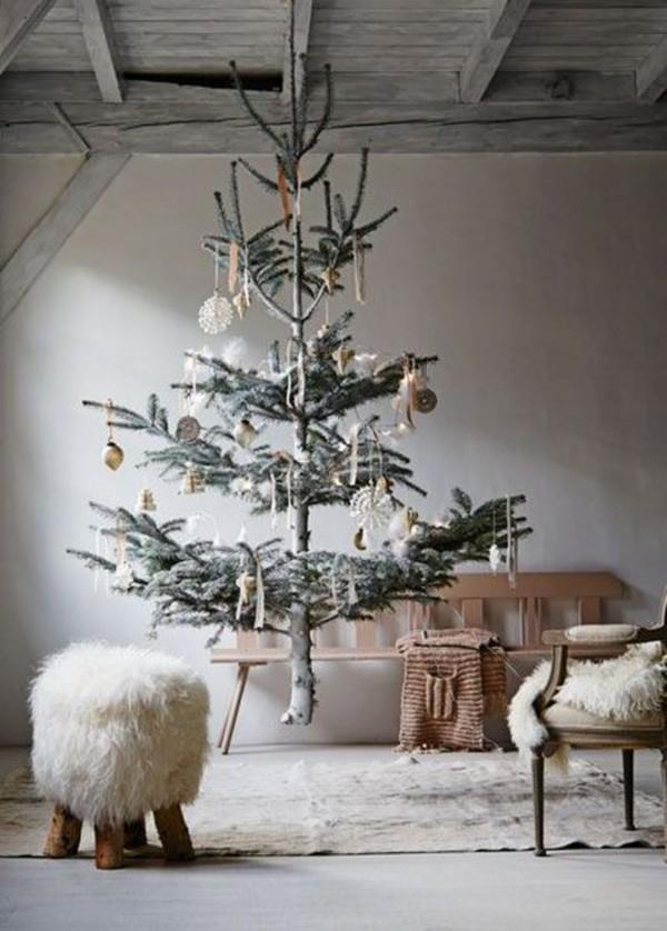 Décoration de Noël inspirée de la nature || Un sapin suspendu