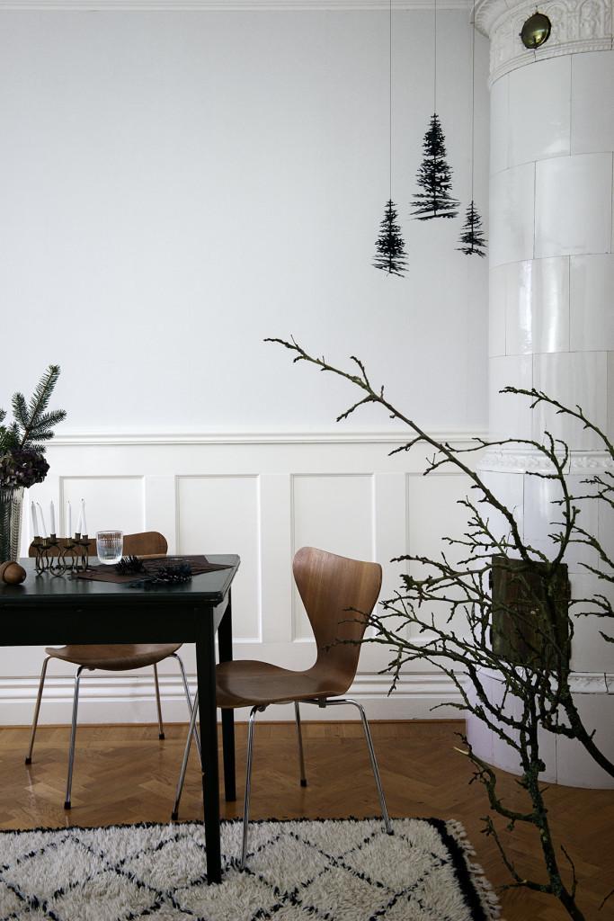 Décoration de noël naturelle à fabriquer || DIY des minis sapins de Noël